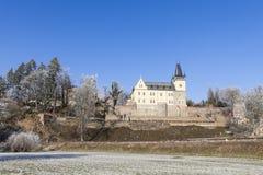 Tsjechische republiek, Zruc nad Sazavou, kasteel Stock Afbeeldingen