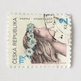 Tsjechische zegels royalty-vrije stock foto's