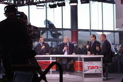TSN broadcast coverage of 102 Grey Cup Stock Photography