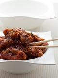 tso еды цыпленка общий Стоковые Изображения