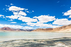 Tso Kar in Ladakh, India Royalty Free Stock Photos