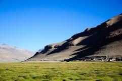 TSO Kar, Leh, Ladakh, il Jammu e Kashmir Fotografia Stock