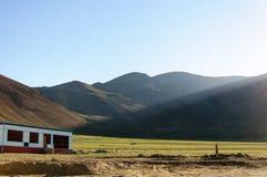 TSO Kar, Leh, Ladakh, il Jammu e Kashmir Immagini Stock