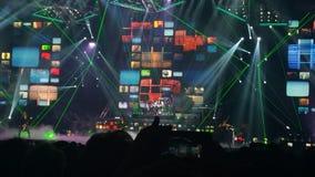 TSO Lightshow imágenes de archivo libres de regalías