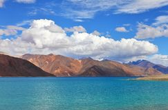 Tso Moriri lake, Royalty Free Stock Photography