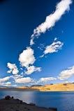 Tso-moriri lake in Ladakh, India Royalty Free Stock Images