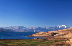 Tso Moriri lake in Ladakh, India Royalty Free Stock Image