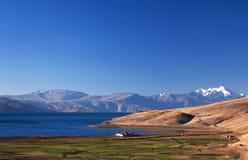 Tso Moriri lake in Ladakh, India Royalty Free Stock Image