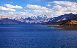 Tso Moriri lake in Ladakh, India Royalty Free Stock Images