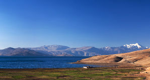 Tso Moriri lake in Ladakh, India Stock Images