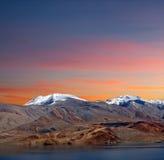 Tso Moriri lake in Ladakh, Jammu and Kashmir, North India. Stock Photos