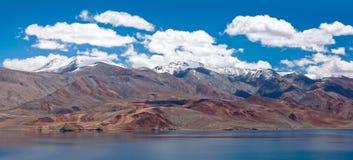 Tso Moriri lake in Ladakh, North India Royalty Free Stock Photo