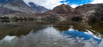 Tso Yarab lake. India, Ladakh Royalty Free Stock Photo