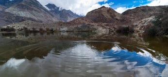 Tso Yarab lake. India, Ladakh Royalty Free Stock Photo