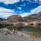 Tso Yarab lake. India, Ladakh Stock Image
