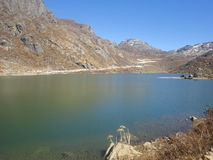 Tsomgo lake Arkivbild