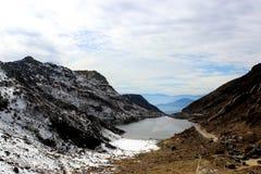 Tsomgo Lake or Changu Lake in the morning. Stock Image