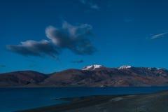 TsoMoriri湖 免版税图库摄影