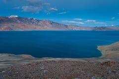 TsoMoriri湖 免版税库存图片