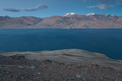 TsoMoriri湖 库存图片