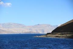 TsoMoriri湖 免版税库存照片