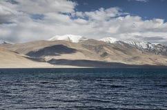 Tsomoriri jezioro  Zdjęcie Stock