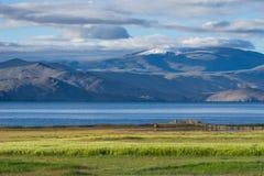Tsomoriri lake in summer season, Leh, Ladakh, India. Asia royalty free stock photo