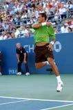 Tsonga Jo-Wilfried in US öffnen 2008 (46) Lizenzfreies Stockfoto