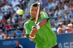 Tsonga Jo-Wilfried at US Open 2008 (21) Royalty Free Stock Photography