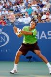 Tsonga Jo-Wilfried at US Open 2008 (28) Stock Image