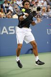 Tsonga Jo-Wilfried at US Open 2009 (43) Stock Image