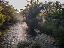 Tsonga lecken Nebenfluss Stockfotografie