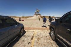 Tsonjin Boldog, maggio, 06 2015: 40 metri di statua alta di Genghis K Immagine Stock Libera da Diritti