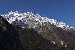 Tsopta dal, Sikkim. Royaltyfria Foton