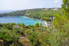 Tsortsi Gialos beach in Alonissos, Sporades. Greece Stock Photo
