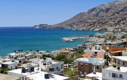 Tsoutsouros bay at Crete island Stock Images