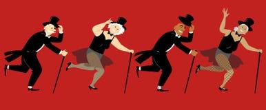 Free Tsp Dancing Seniors Royalty Free Stock Photo - 138855065