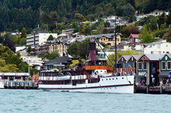TSS Earnslaw σε Queenstown NZ Στοκ φωτογραφία με δικαίωμα ελεύθερης χρήσης