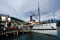 TSS Earnslaw in Queenstown NZ Royalty Free Stock Photography