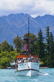 TSS Earnslaw in Queenstown NZ Stock Photography