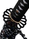 Tsuba: protetor da mão da espada japonesa Imagem de Stock Royalty Free