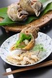 Tsubu gai sashimi, japanese whelk sashimi Royalty Free Stock Image