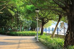 Tsuen Wan Riviera Park at Tsuen Wan. Hk Royalty Free Stock Photography