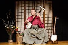 Tsugaru-jamisen Stock Image