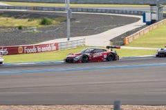 Tsugio Matsuda de NISMO dans la course finale superbe du GT 66 recouvrements à A 2015 Photo libre de droits