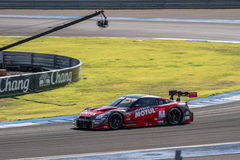 Tsugio Matsuda of NISMO in GT500 Qualiflying Category at 2015 AU Royalty Free Stock Photography
