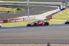 Tsugio Matsuda of NISMO in Super GT Final Race 66 Laps at 2015 A Royalty Free Stock Photo