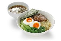 Tsukemen , japanese dipping ramen noodles Stock Image