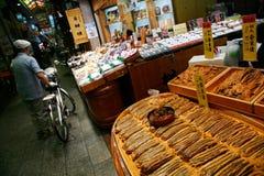 Tsukemono Stall. In Nishiki Market, Kyoto Stock Images