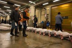 Tsukiji鱼市,日本01 免版税库存照片